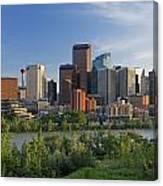 Calgary, Alberta, Canada Canvas Print