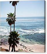 California Coastline Photo Canvas Print