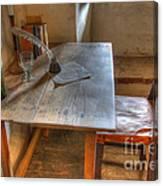 California Mission La Purisima Desk Canvas Print