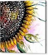 California Sunflower Canvas Print