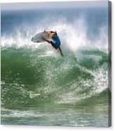 California Surfing 1 Canvas Print