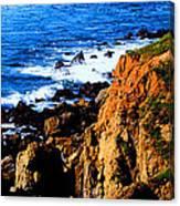 California Waterfront Canvas Print
