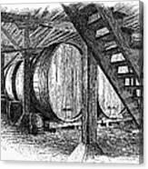 California: Winery, C1890 Canvas Print