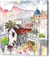 Callosa De Ensarria Canvas Print