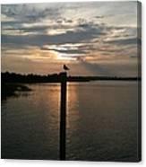 Calm Sunset Canvas Print