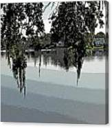 Calm Waters Before The Storm Canvas Print