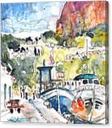 Calpe Harbour 05 Canvas Print