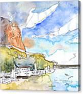 Calpe Harbour 06 Canvas Print