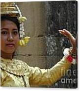 Cambodian Dancer Canvas Print