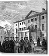 Cambridge University, 1862 Canvas Print