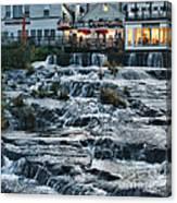 Camden Maine Waterfalls Canvas Print