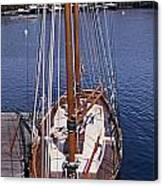 Camden Tall Ship Canvas Print
