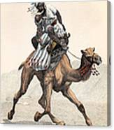 Camel & Rider Canvas Print