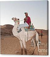 Camel Riders Canvas Print