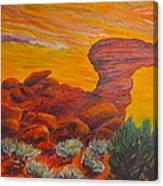 Camel Rock Canvas Print