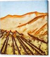 Camel Shadows Canvas Print
