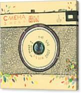 Cameras Retro Canvas Print