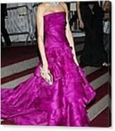 Cameron Diaz Wearing Christian Dior Canvas Print