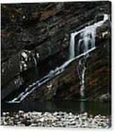 Cameron Falls Waterton Lakes National Park Canvas Print