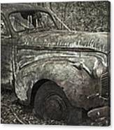 Camouflage Classic Car Canvas Print