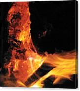 Campfire Apparition  Canvas Print