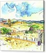 Campo Maior In Portugal 01 Canvas Print