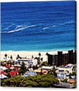 Camps Bay Beach Canvas Print