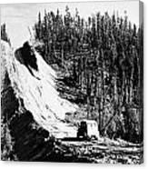 Canada: Alaska Highway Canvas Print