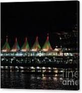 Canada Place Convention Center Canvas Print