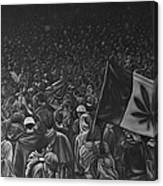 Canadian Marijuana Demonstration Canvas Print