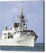 Canadian Navy Halifax-class Frigate Canvas Print