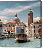 Canal Grande. Venezia Canvas Print