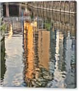 Canal Palette Canvas Print