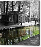 Canal Saint Martin Canvas Print