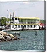 Canandaigua Lady Paddleboat Canvas Print