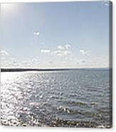 Canandaigua Lake Panorama Canvas Print