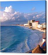 Cancun Waters Canvas Print