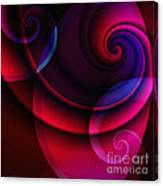 Candy Swirls Canvas Print