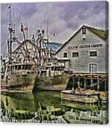 Cannery Hdr Canvas Print