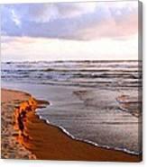 Cannon Beach Painting Canvas Print