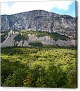 Cannon Cliff From Boise Rock New Hampshire Canvas Print