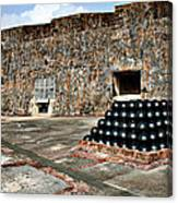 Fort San Cristobal, Cannon Embrasures, Canvas Print