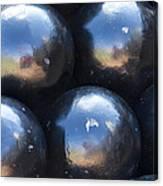 Canon Balls Canvas Print