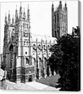 Canterbury Cathedral - England - C 1902 Canvas Print