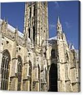 Canterbury Cathedral, Exterior Canvas Print