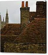Canterbury Rooftops Canvas Print