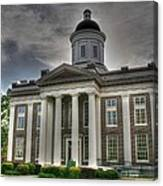 Canton Courthouse Back Canvas Print