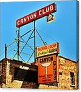 Canyon Club Route 66 Williams Arizona Canvas Print