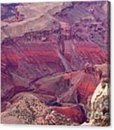 Canyon Colors 2 Canvas Print
