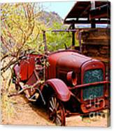 Canyon Creek Ranch Transportation Canvas Print